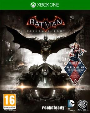 Batman: Arkham Knight Xbox One Cover