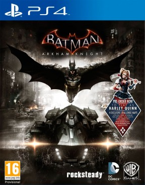 Batman: Arkham Knight PS4 Cover
