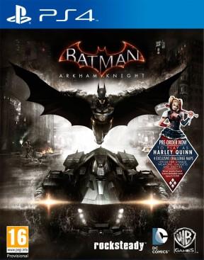 Batman: Arkham Knight PS4 Cover