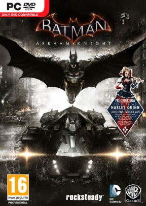Batman: Arkham Knight PC Cover