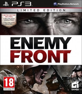 Enemy Front PS3 Cover