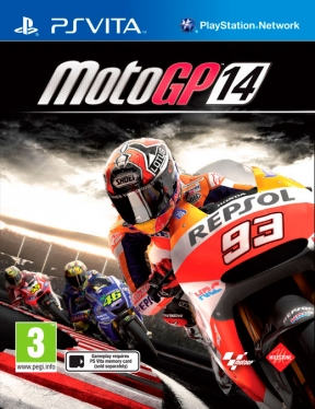 MotoGP 14 PS Vita Cover
