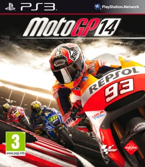 MotoGP 14 PS3 Cover