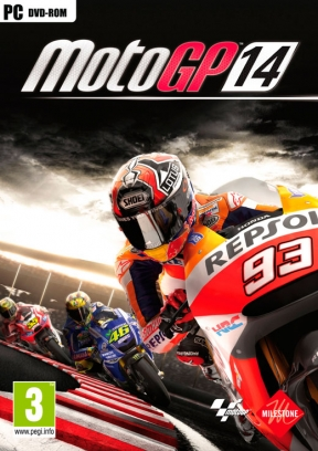 MotoGP 14 PC Cover