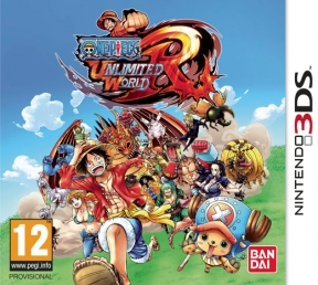 One Piece Unlimited World Red 3DS Cover