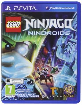 LEGO Ninjago: Nindroids PS Vita Cover