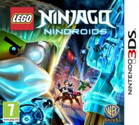 LEGO Ninjago: Nindroids 3DS Cover