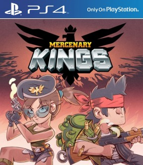 Mercenary Kings PS4 Cover