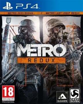 Metro Redux PS4 Cover