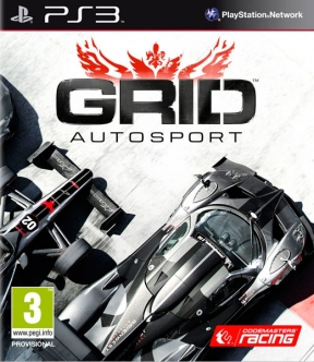 GRID: Autosport PS3 Cover