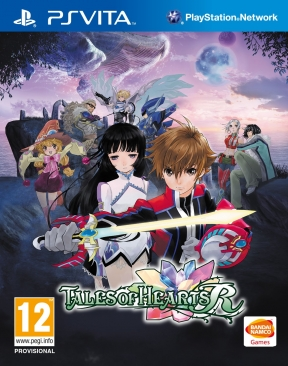 Tales of Hearts R PS Vita Cover