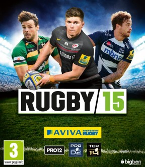 RUGBY 15 PS3 Cover