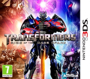 Transformers: Rise of the Dark Spark 3DS Cover