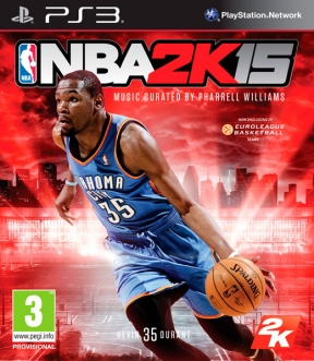 NBA 2K15 PS3 Cover