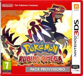 Pokémon Rubino Omega 3DS Cover