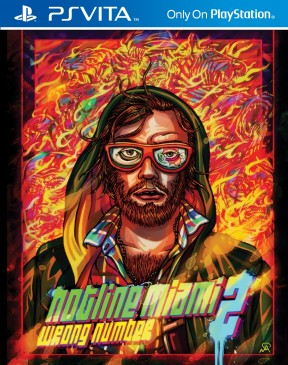 Hotline Miami 2: Wrong Number PS Vita Cover