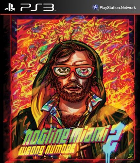 Hotline Miami 2: Wrong Number PS3 Cover