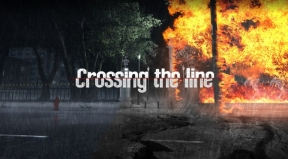 Crossing the Line PC Cover