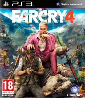 Far Cry 4 PS3 Cover