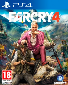 Far Cry 4 PS4 Cover