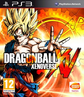 Dragon Ball Xenoverse PS3 Cover