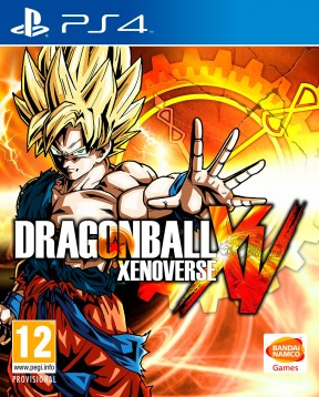 Dragon Ball Xenoverse PS4 Cover