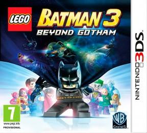 LEGO Batman 3: Gotham e Oltre 3DS Cover