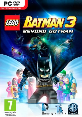 LEGO Batman 3: Gotham e Oltre PC Cover