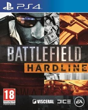 Battlefield: Hardline PS4 Cover