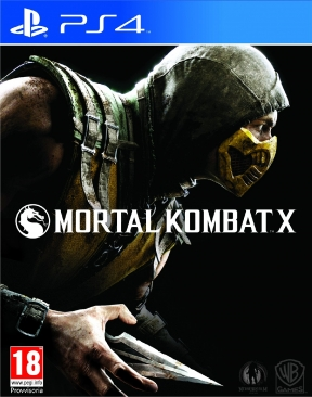 Mortal Kombat X PS4 Cover