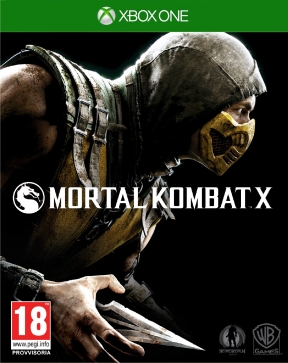 Mortal Kombat X Xbox One Cover