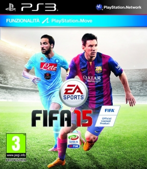 FIFA 15 PS3 Cover