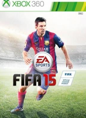 FIFA 15 Xbox 360 Cover