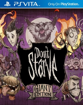 Don't Starve: Giant Edition PS Vita Cover
