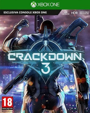Crackdown 3 Xbox One Cover