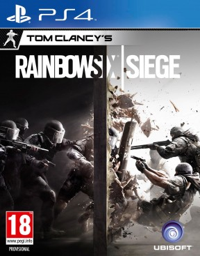 Rainbow Six: Siege PS4 Cover