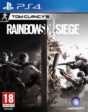 Rainbow Six: Siege PS4 Cover