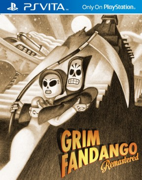 Grim Fandango Remastered PS Vita Cover