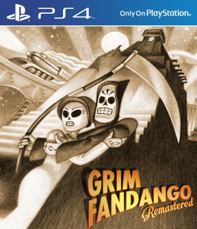Grim Fandango Remastered PS4 Cover