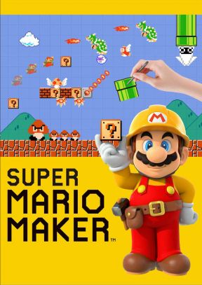 Super Mario Maker Wii U Cover