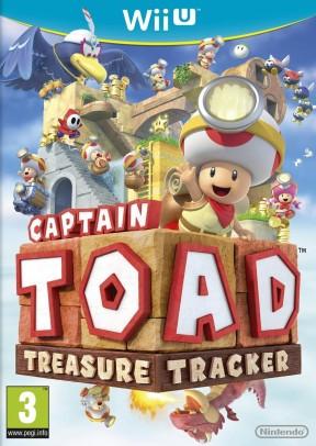 Captain Toad: Treasure Tracker Wii U Cover