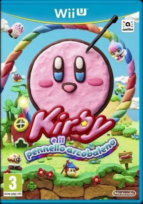 Kirby e il Pennello Arcobaleno Wii U Cover