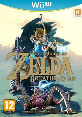 The Legend of Zelda: Breath of the Wild Wii U Cover