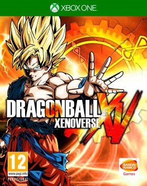 Dragon Ball Xenoverse Xbox One Cover