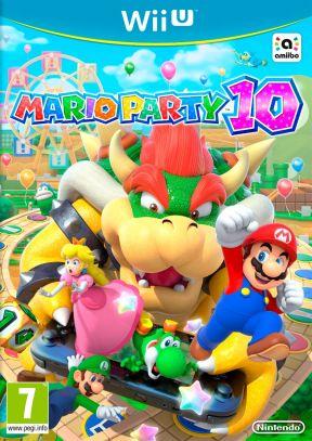 Mario Party 10 Wii U Cover