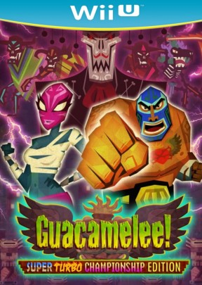 Guacamelee! Super Turbo Championship Edition Wii U Cover