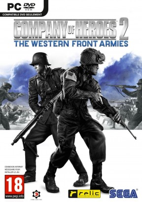 Company of Heroes 2: The Western Front Armies PC Cover