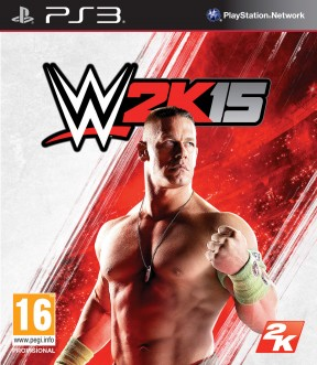 WWE 2K15 PS3 Cover