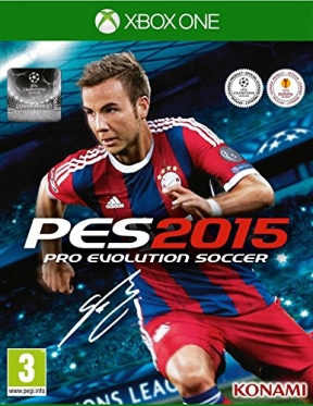 PES 2015 Xbox One Cover