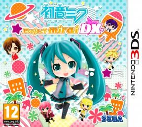 Hatsune Miku: Project Mirai DX 3DS Cover